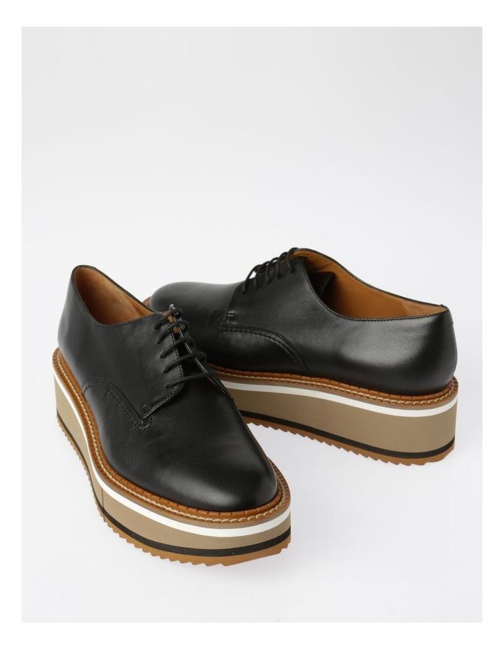 Berlin Black Nappa Flat Shoes image 6