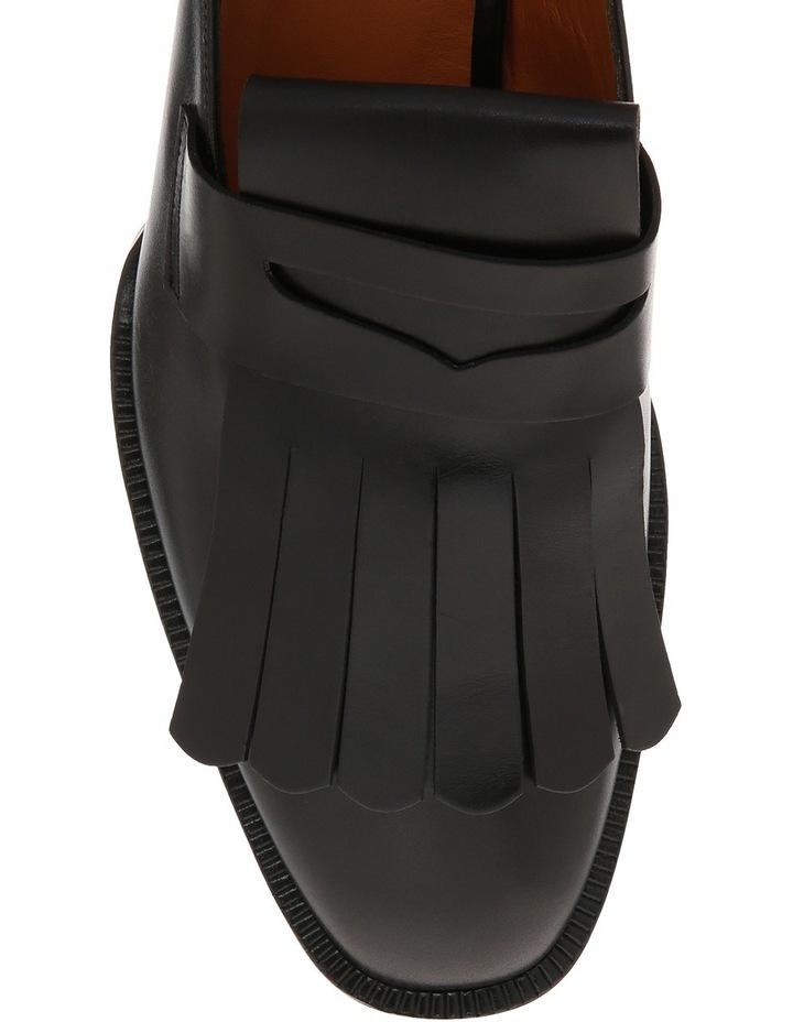 Yumi Black Leather Mule image 3