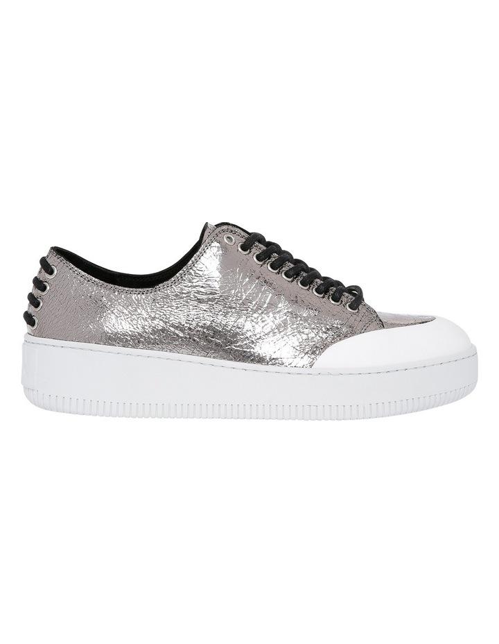 Netil Eyelet Low Silver Sneaker image 1