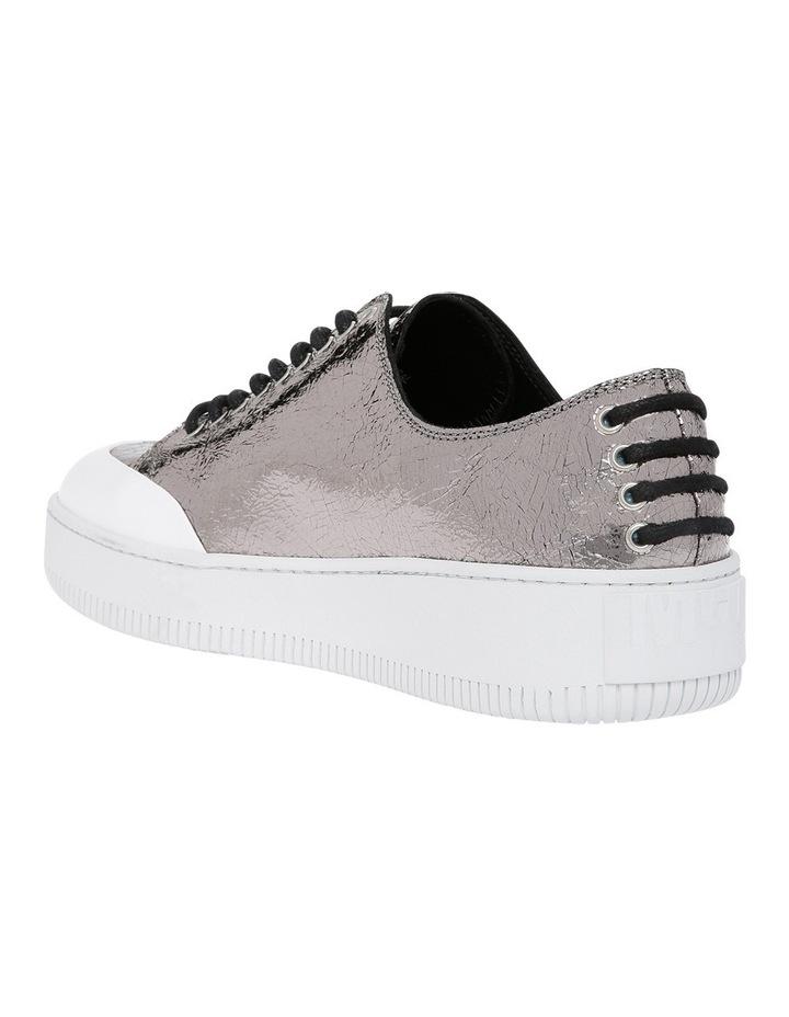 Netil Eyelet Low Silver Sneaker image 2