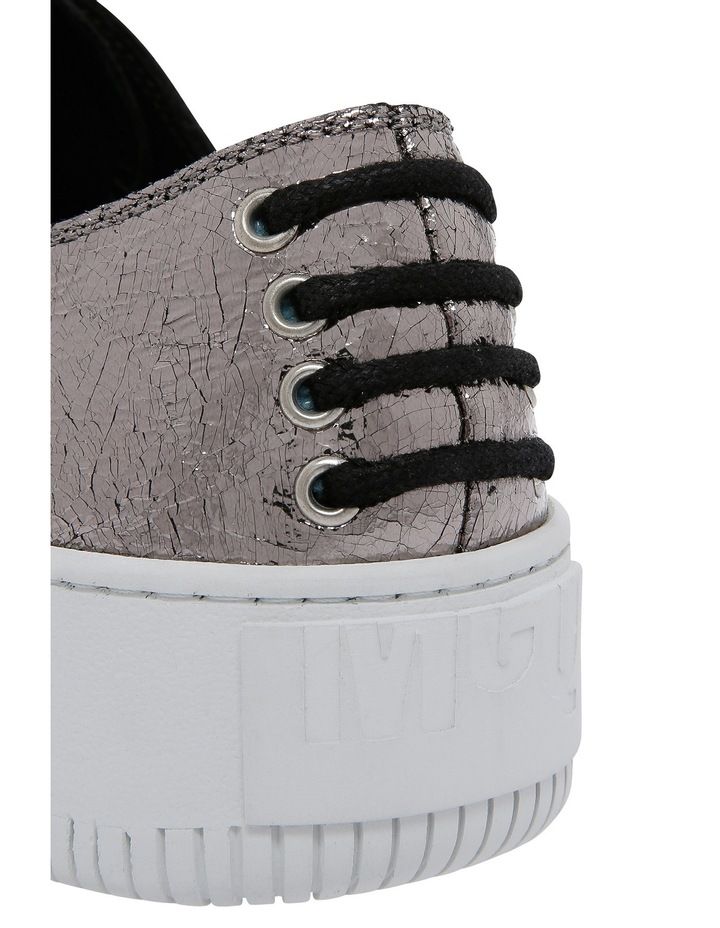 Netil Eyelet Low Silver Sneaker image 3