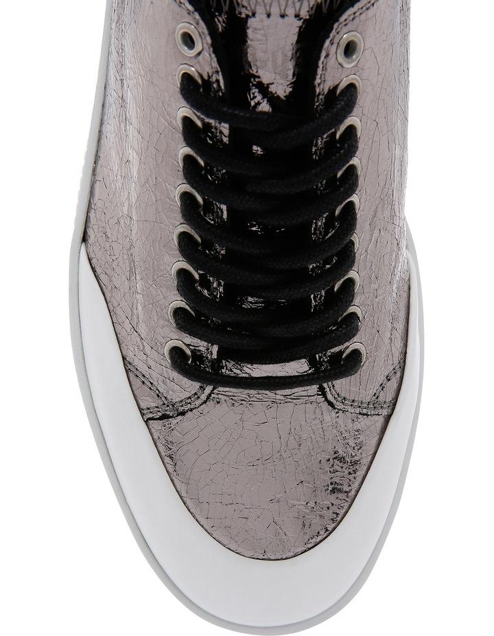Netil Eyelet Low Silver Sneaker image 4