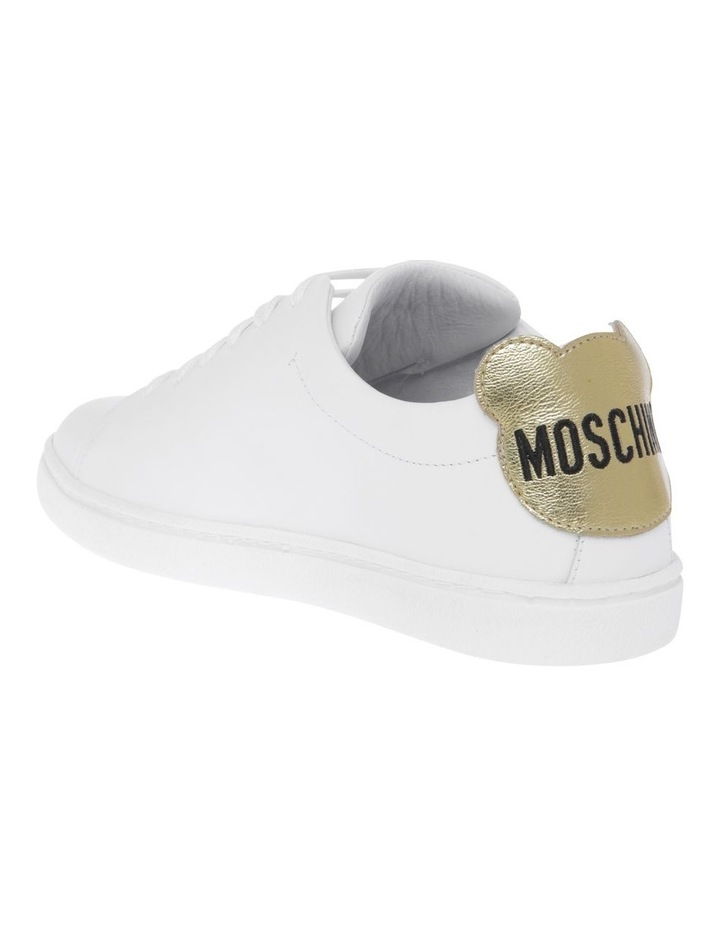 White With Gold Sneakers image 2