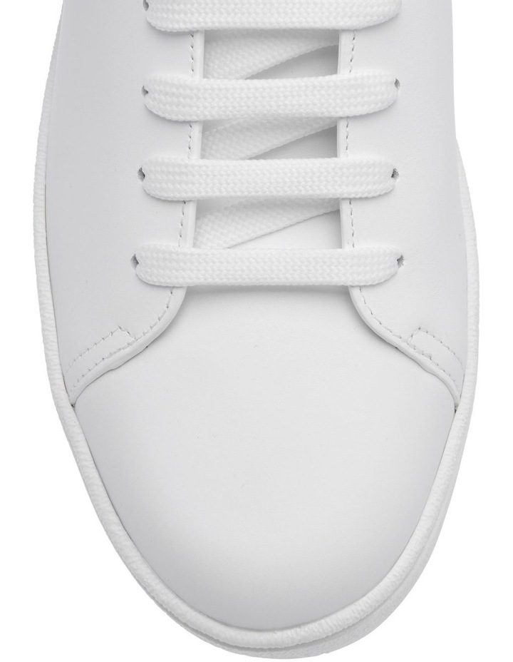 White With Gold Sneakers image 3