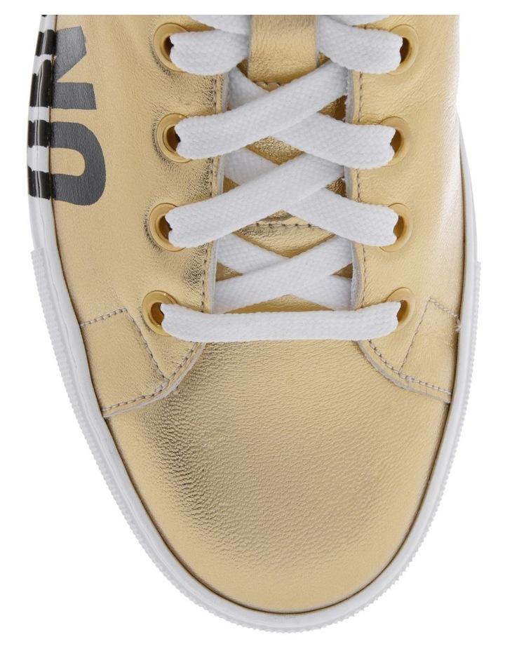 Gold Sneaker image 3