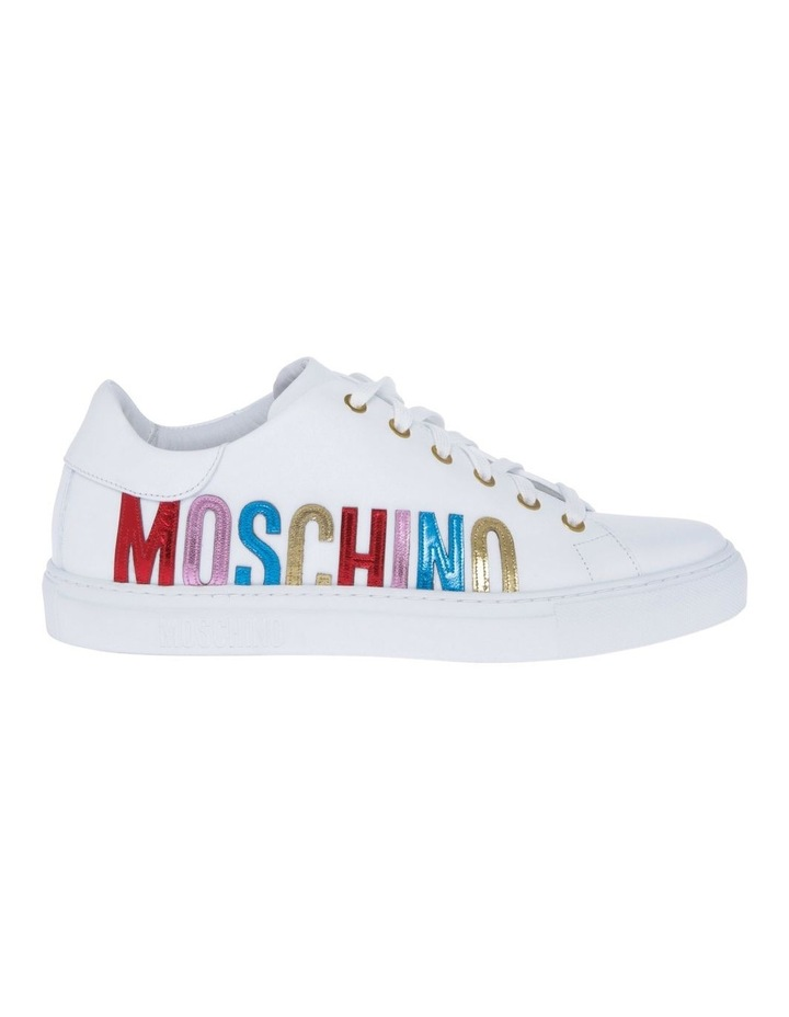 White With Multi Sneaker image 1