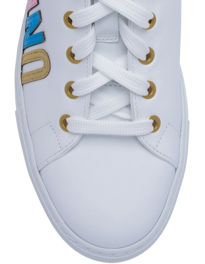 White With Multi Sneaker image 3