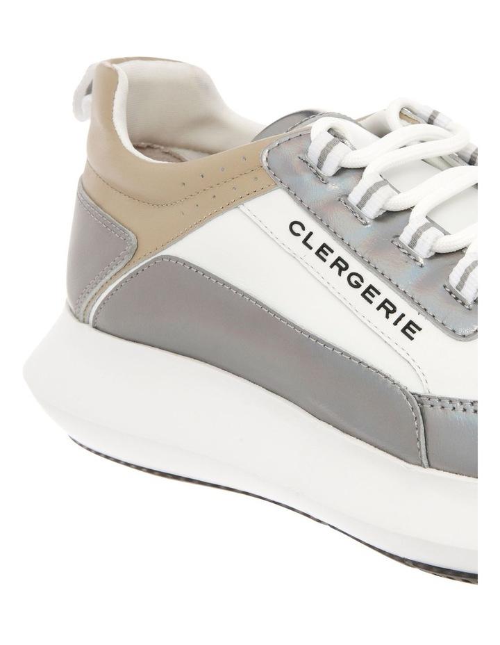 Sea Calfskin Sneaker - Beige image 3