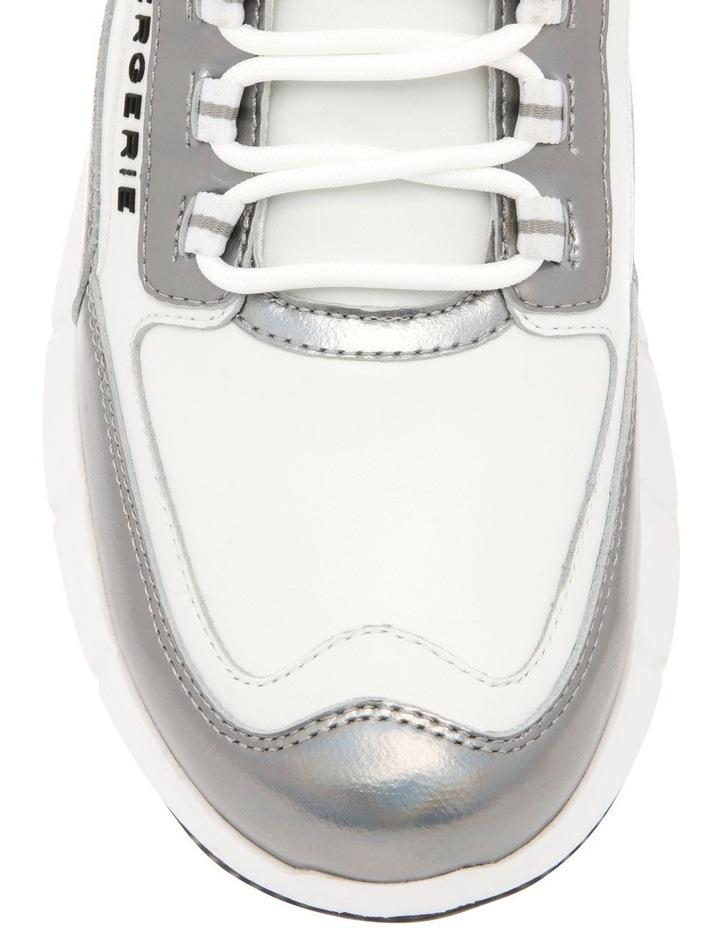 Sea Calfskin Sneaker - Beige image 4