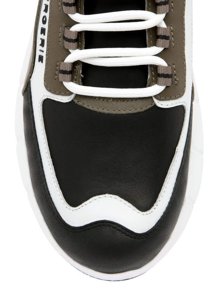Sea Calfskin Sneaker - Black image 4