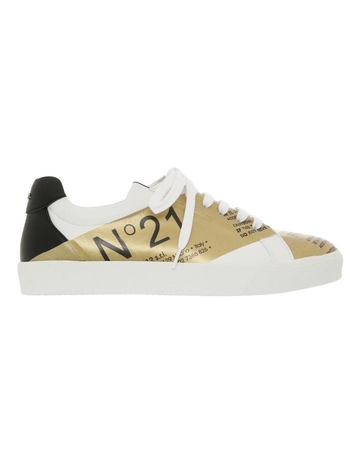 Gymnic White/Gold Sneaker image 1