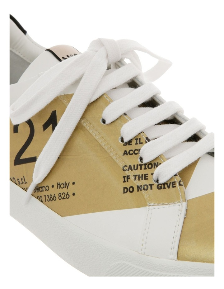 Gymnic White/Gold Sneaker image 3