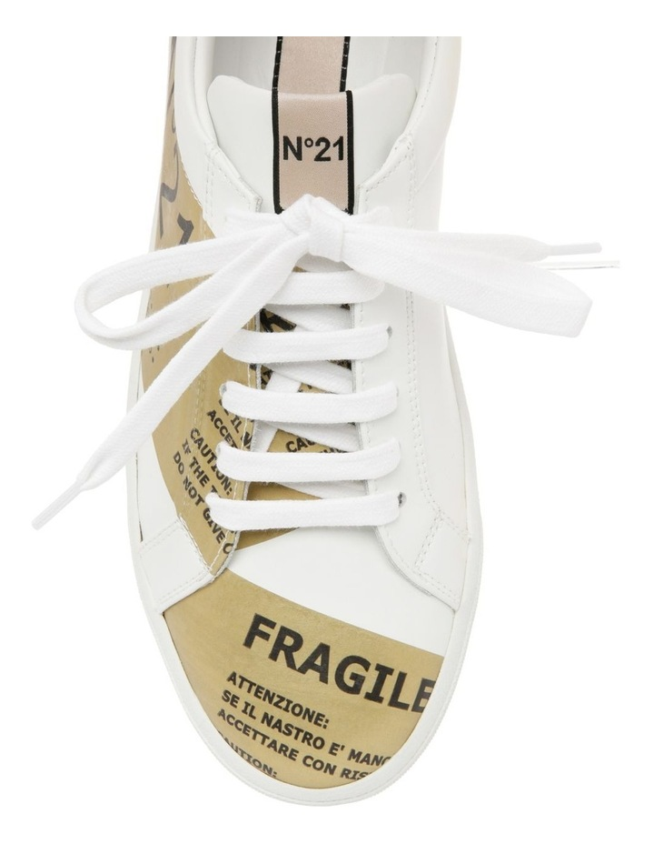 Gymnic White/Gold Sneaker image 5