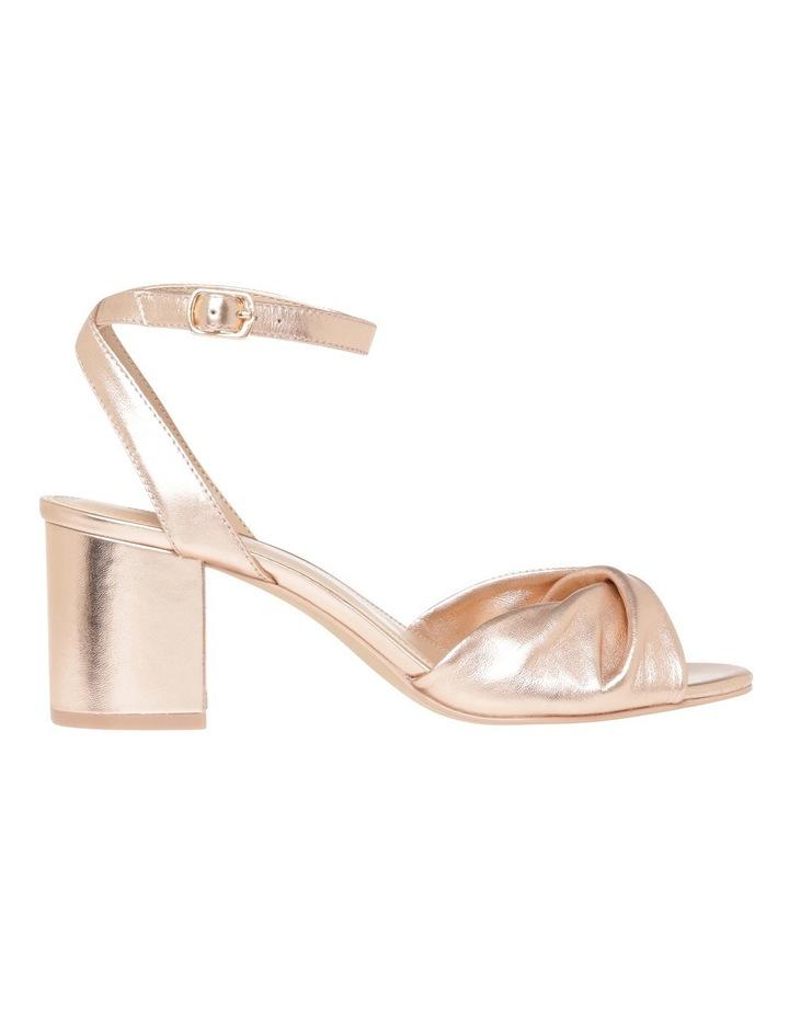 Niccala Rose Gold Sandal image 1