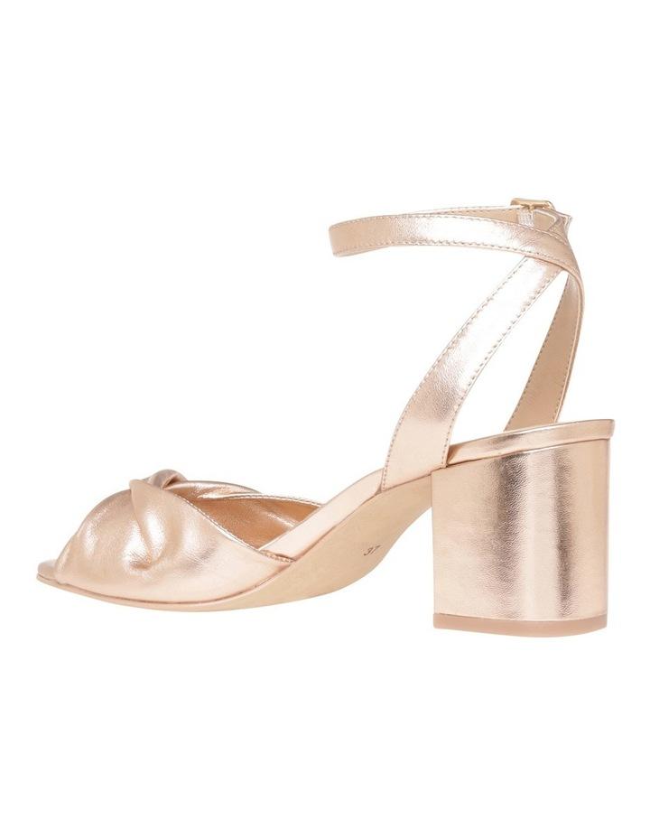 Niccala Rose Gold Sandal image 2