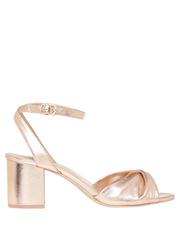 Niccala Rose Gold Sandal