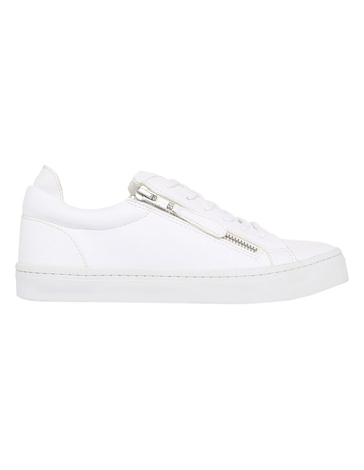 Zanda Zip White Sneaker image 1