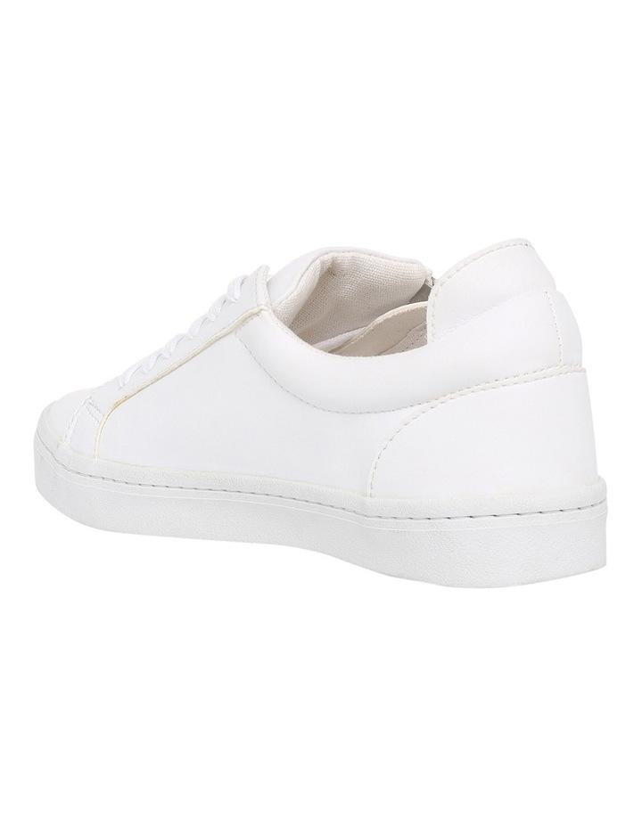 Zanda Zip White Sneaker image 2