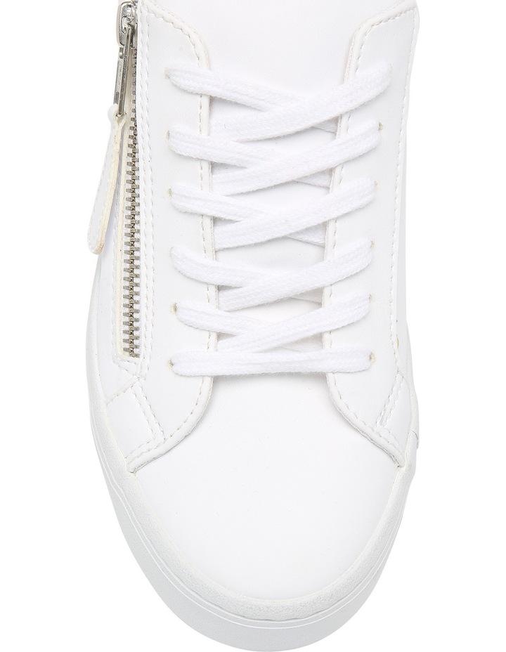 Zanda Zip White Sneaker image 3