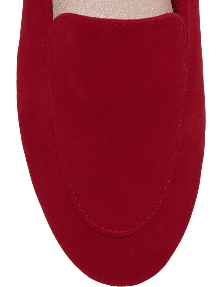 Clara Red Loafer image 3