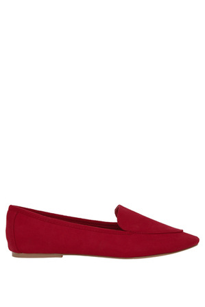Miss Shop - Clara Red Loafer