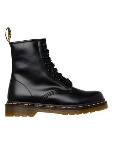 8d8155d16cf Dr Martens 8 Eye Boot Black Smooth