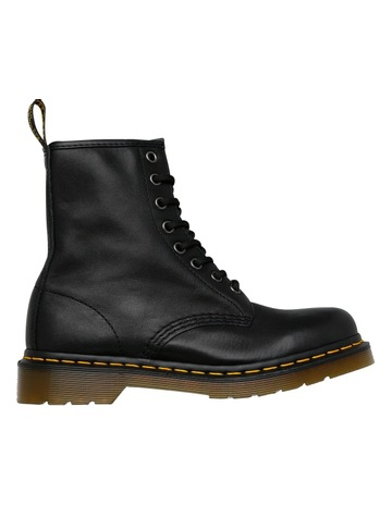 Dr Martens 8 Eye 11822002 Black Nappa Boot cceb24e25a