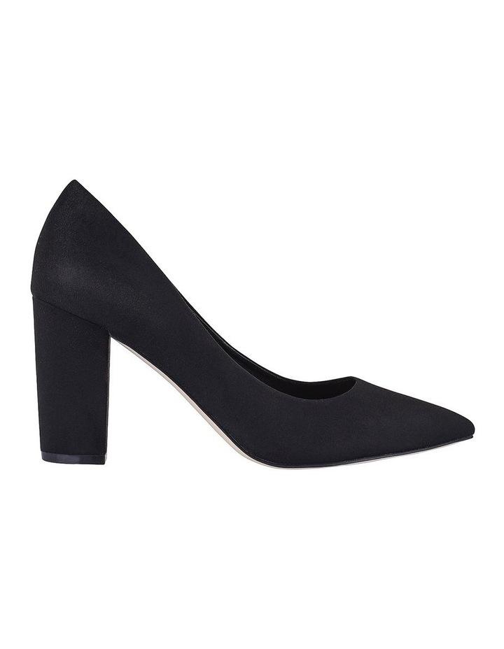 Benji Black Micro Heeled Shoes image 1