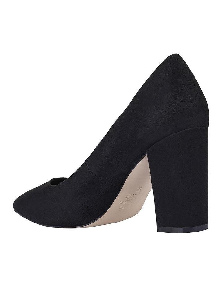 Benji Black Micro Heeled Shoes image 2