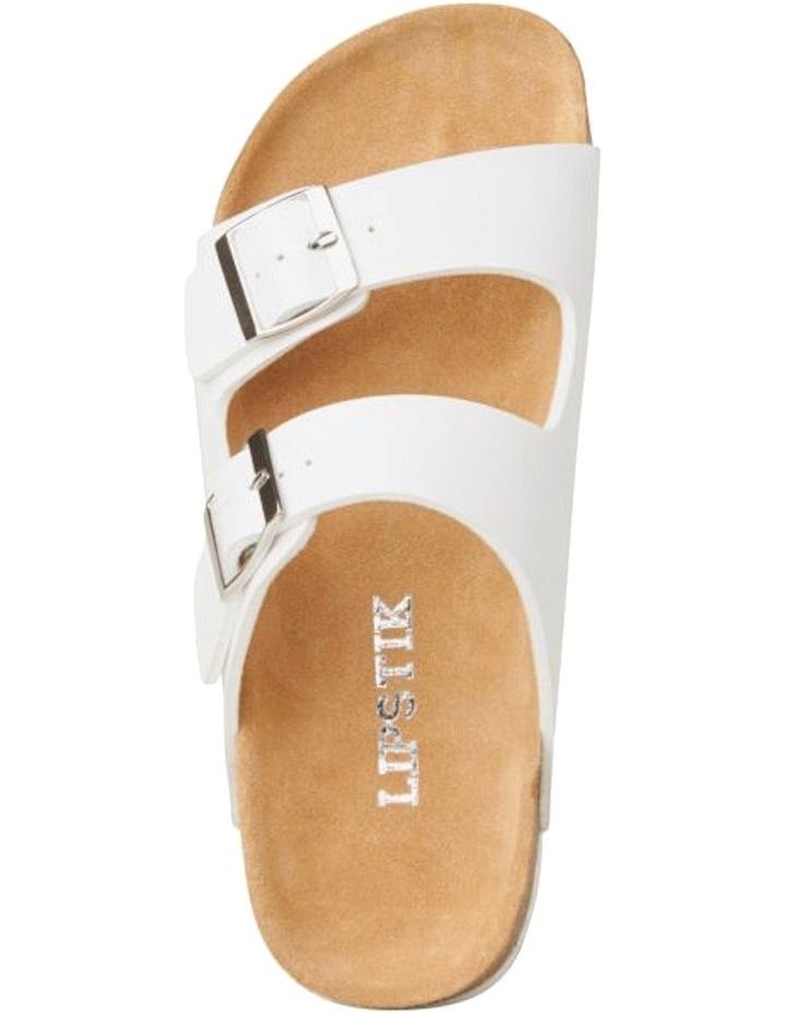 Toffee White Sandal image 6