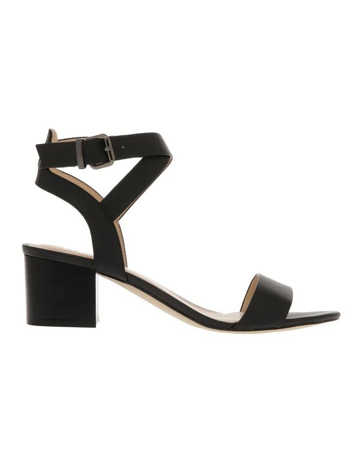 Ezra Black Smooth Sandal image 1