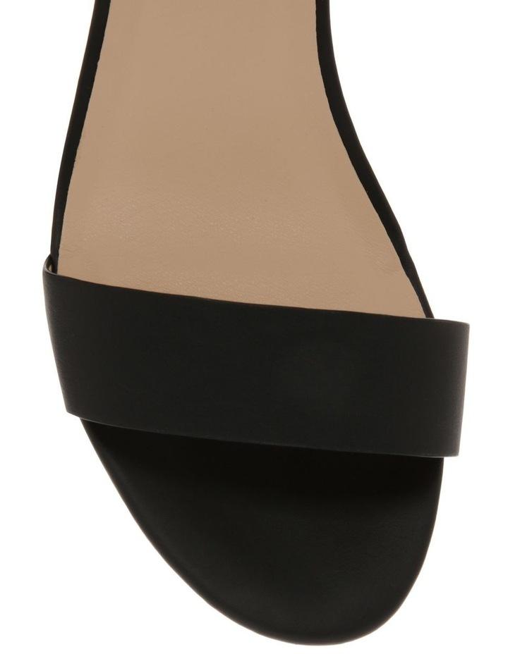 Ezra Black Smooth Sandal image 3