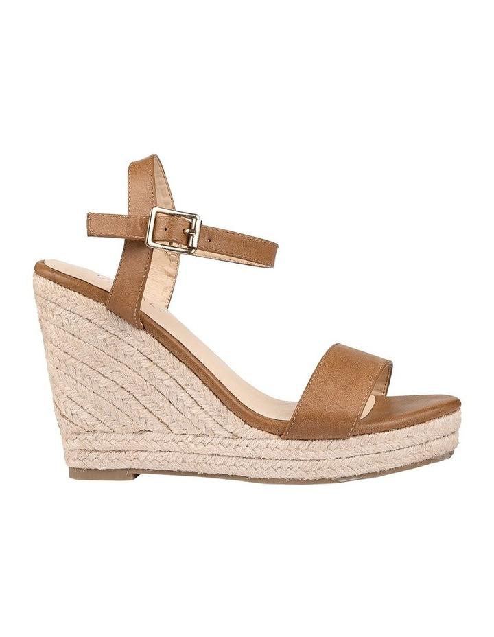 Amaya Tan Wedge Sandal image 1