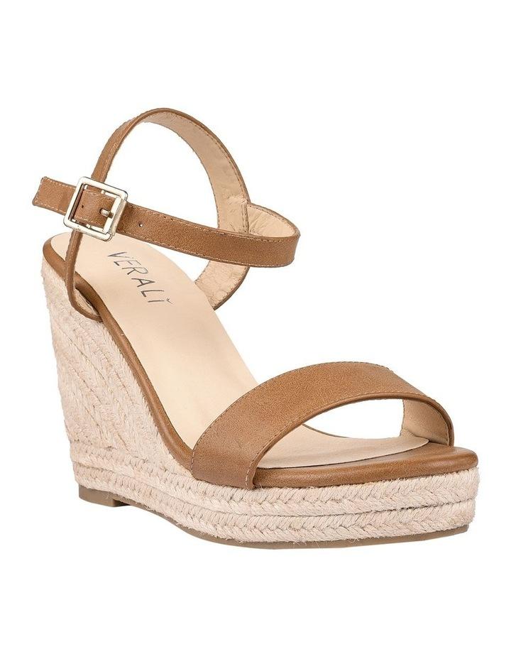 Amaya Tan Wedge Sandal image 2