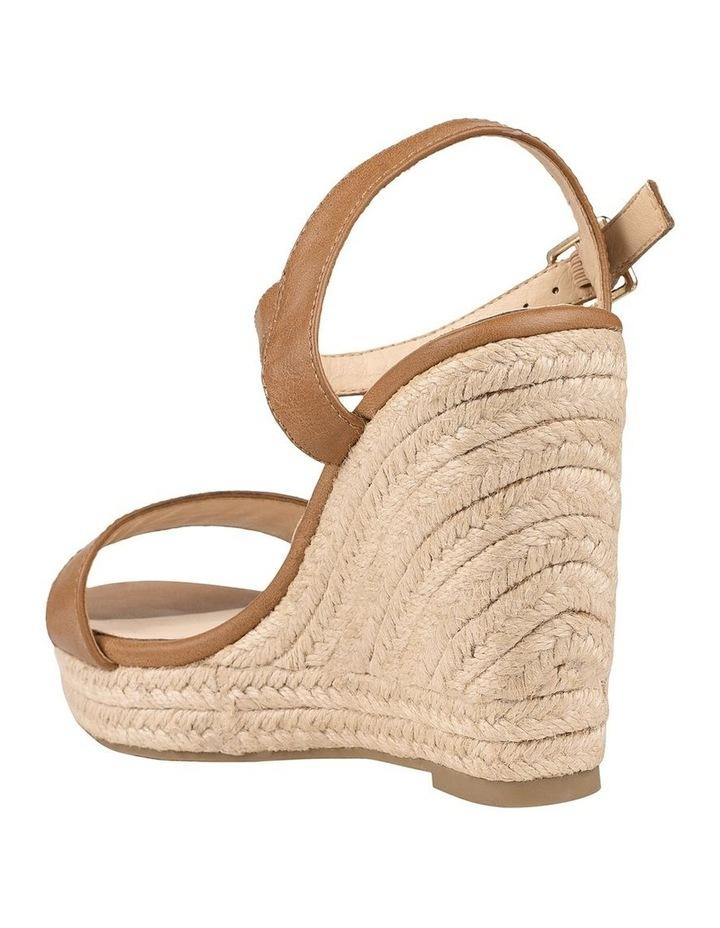 Amaya Tan Wedge Sandal image 4