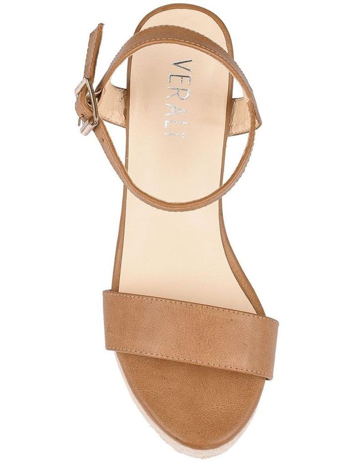 Amaya Tan Wedge Sandal image 5