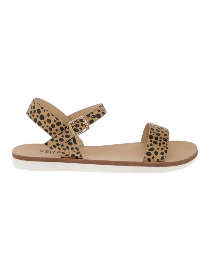 Sass Nude Cheetah Micro Sandal image 1