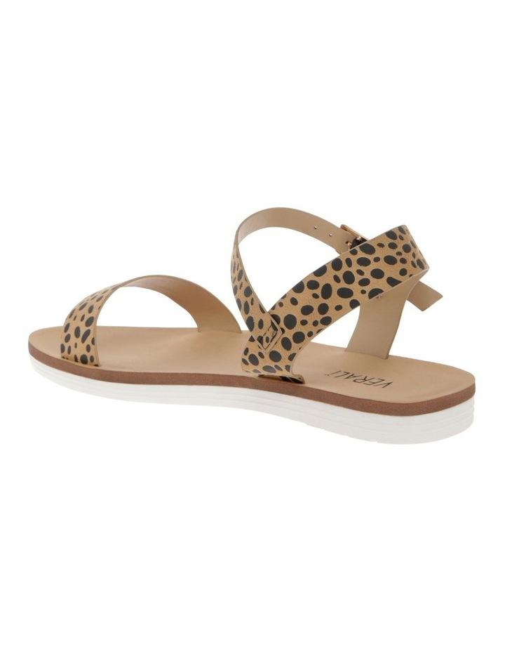 Sass Nude Cheetah Micro Sandal image 2
