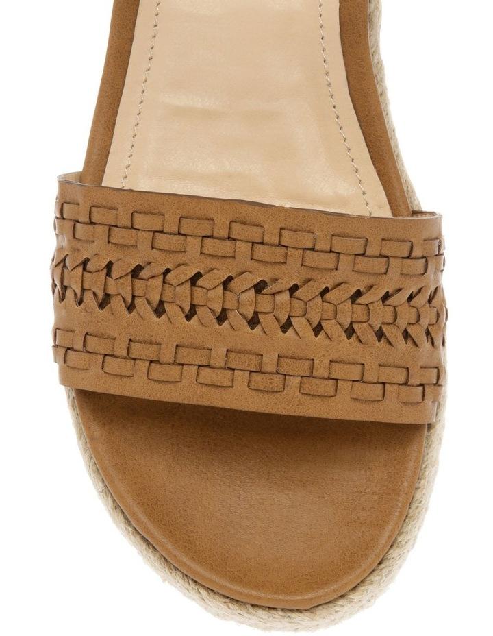 Disco Tan Smooth Sandal image 3