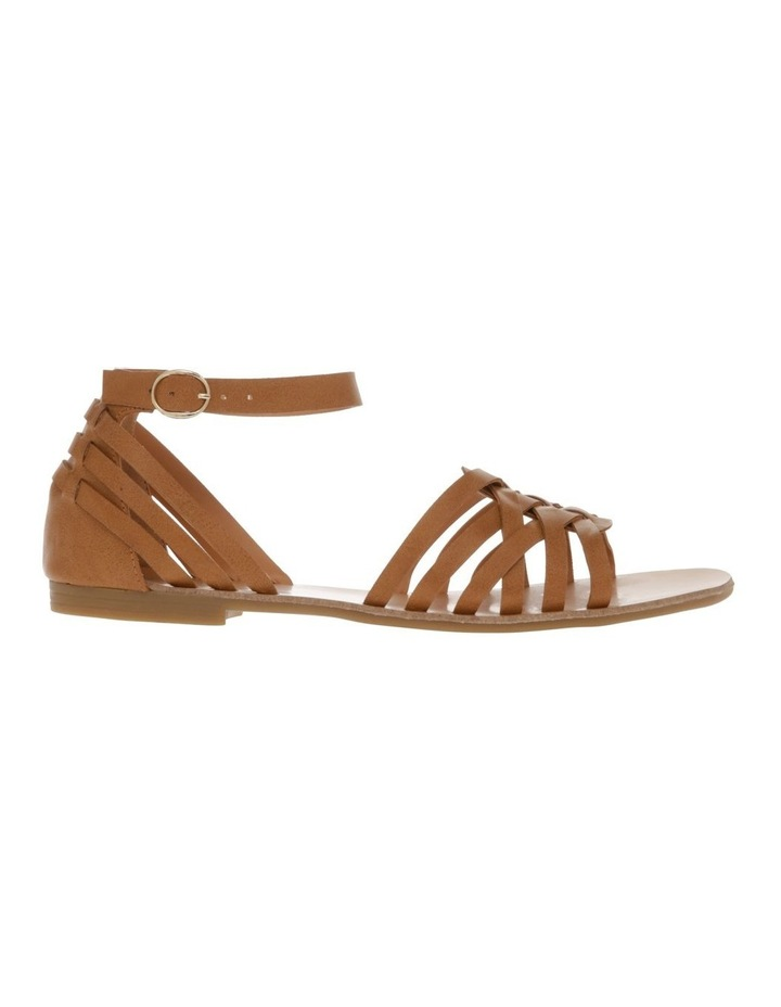 San Marco Tan Smooth Sandal image 1
