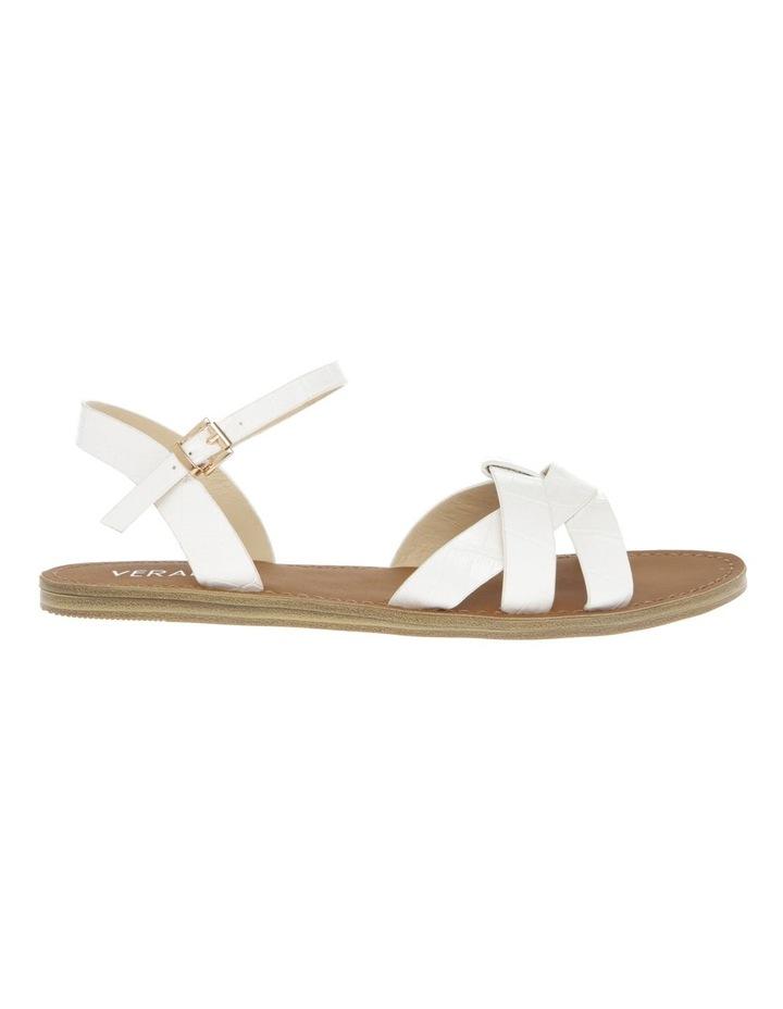 Toula White Sandal image 1