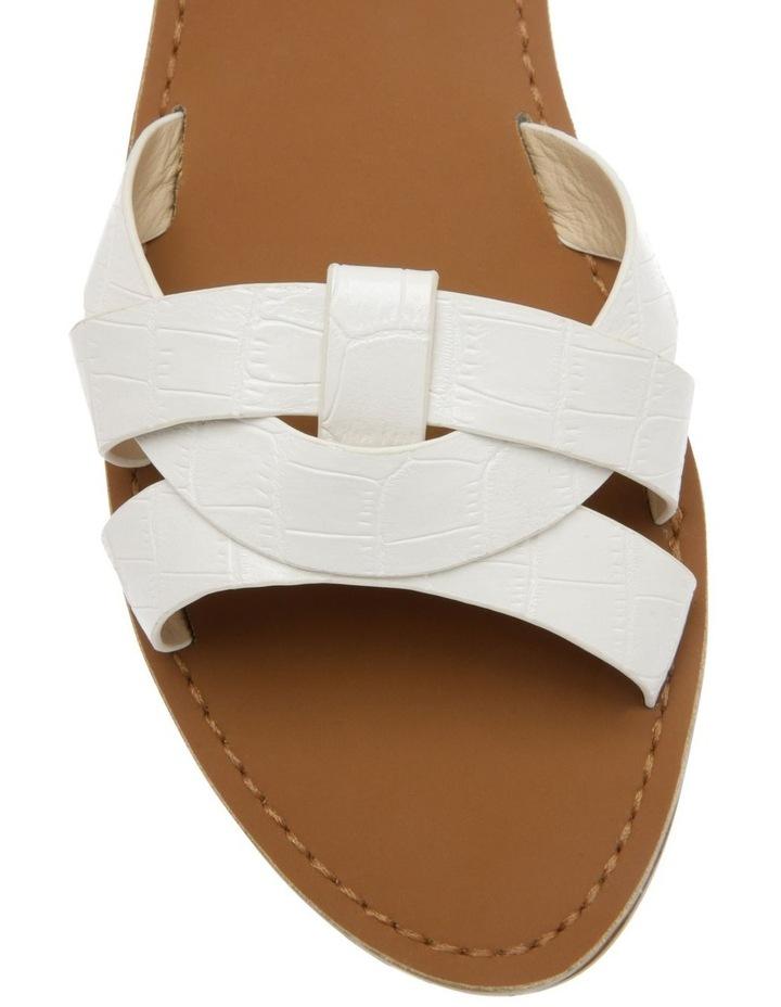 Toula White Sandal image 3