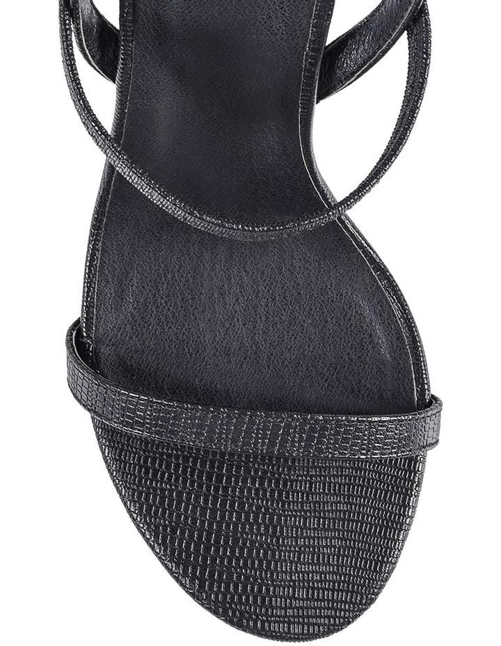 Obsess Black Sandal image 2