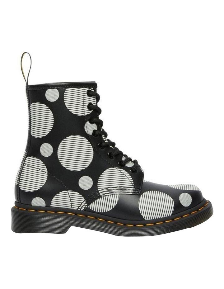 1460 Black White Polka Dot Boot image 2
