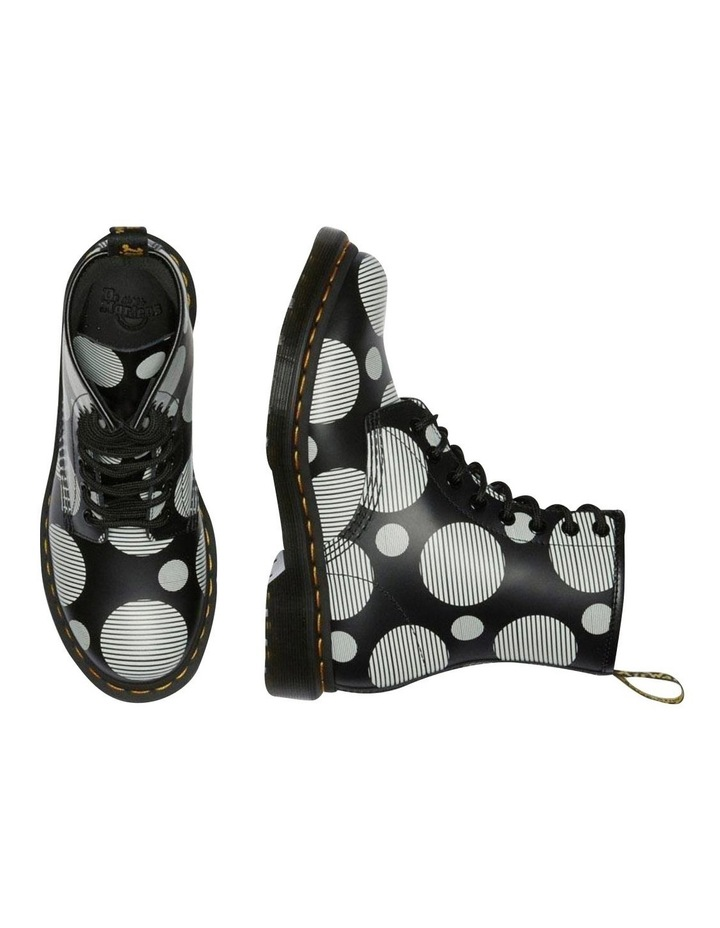 1460 Black White Polka Dot Boot image 3