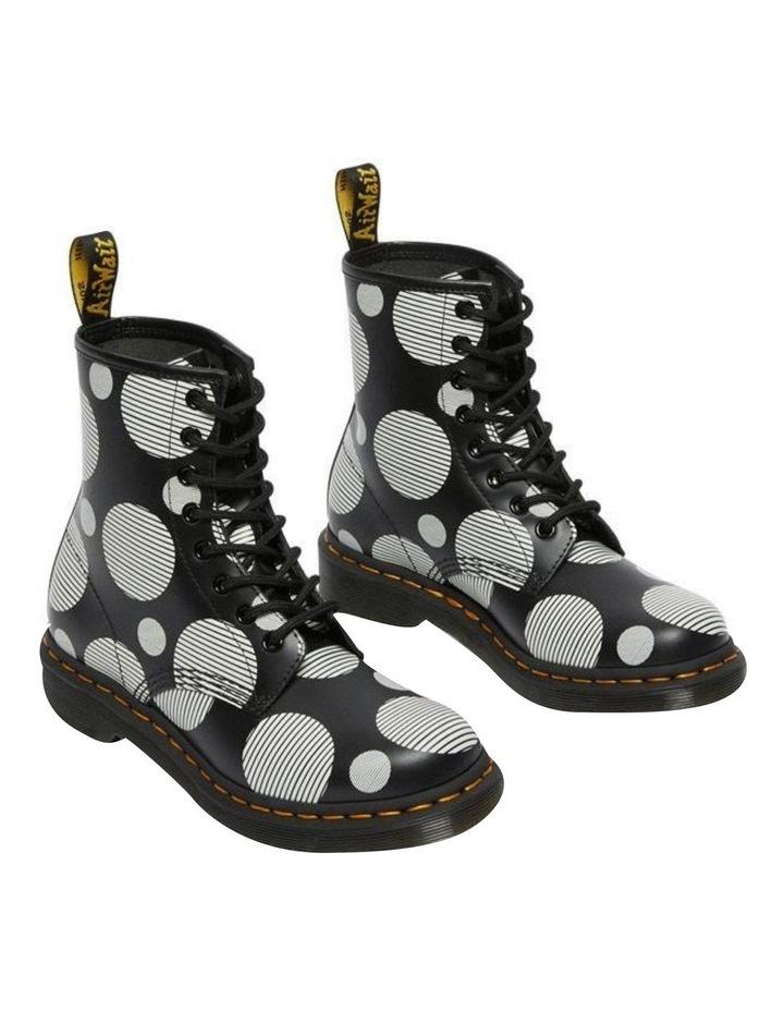 1460 Black White Polka Dot Boot image 4