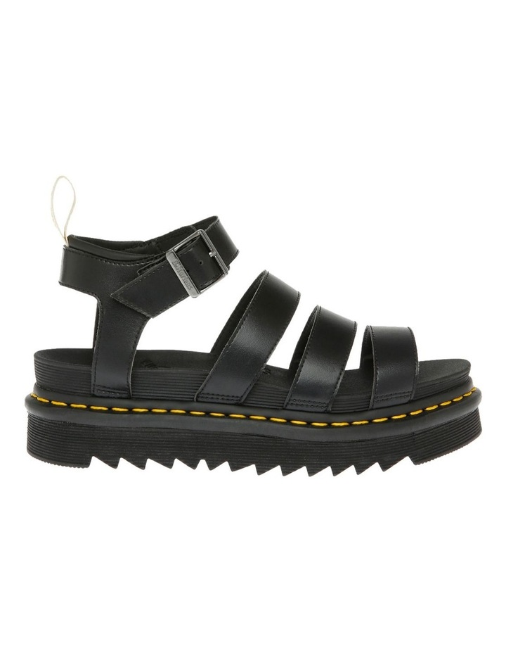 Vegan Blaire Black Sandal image 1