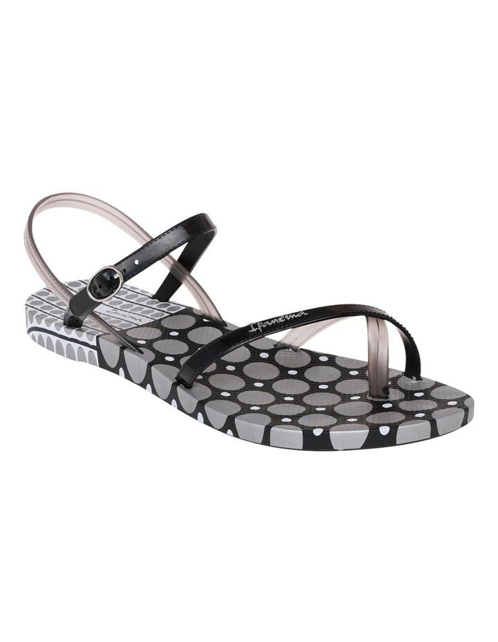 Greta Six Black/Silver 21708 Sandal image 2