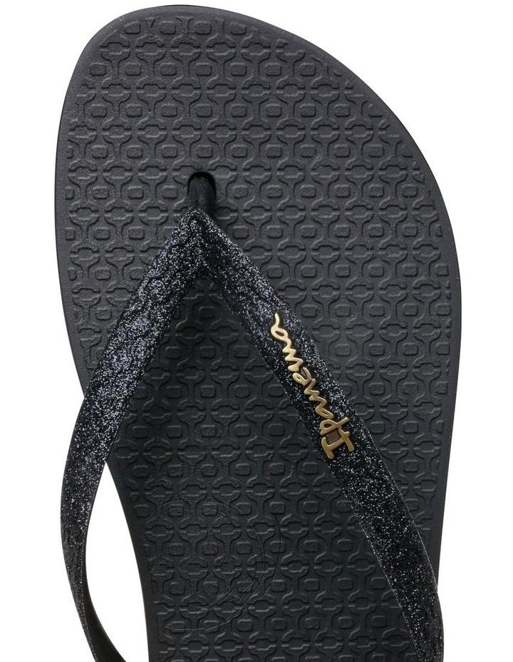 Lolita 111 Black Glitter Sandal image 7