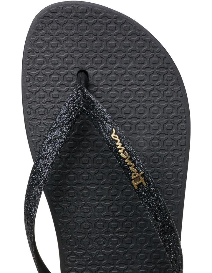 Lolita 111 Black Glitter Sandal image 4